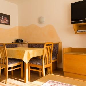 Wohnküche mit gemütlicher Essecke